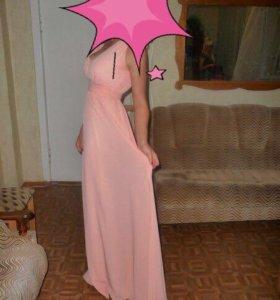 Платье в пол (выпускное)