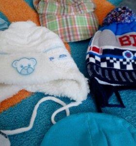 Деские шапки до 2 лет