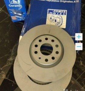 Тормозные диски+колодки