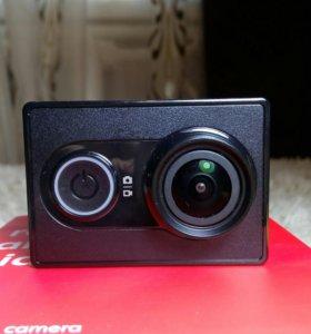 Xiaomi yi видеокамера и аксессуары к ней