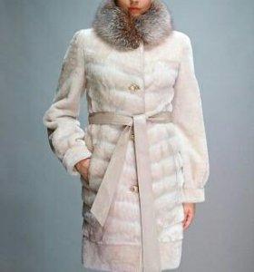 Шуба овчина размер:48