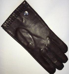 Перчатки мужские , р. 9,5 , шёлк