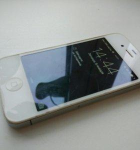 Iphone 4 белый, 8гб