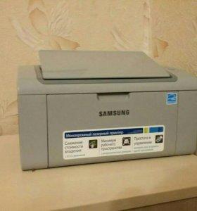 Принтер Sansung с запасным катриджем