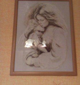 """Картина """"Мать и дитя """""""