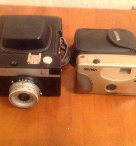 Плёночные фотоаппараты.