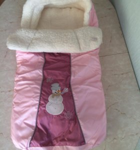 Продам тёплый зимний конверт для малыша (овчина)