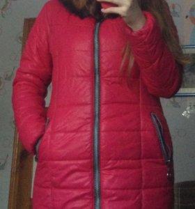 Тёплая зимняя куртка (пальто)