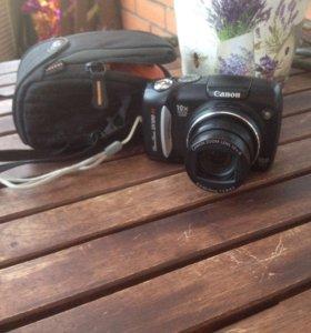 Фотоаппарат Canon Powershot SX120 is и чехол