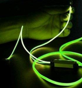 Светодиодные наушники