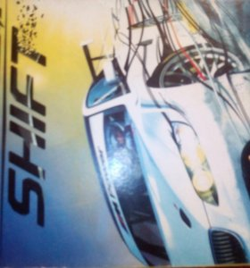 Диск игра need for speed SHIFT