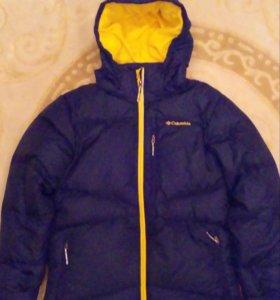 Зимняя куртка б/у Columbia размер L
