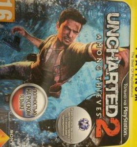 Uncharted 2 диск игра для PS3