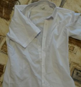 Рубашка на мальчика с коротким рукавом, 36 размер