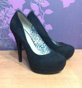 Туфли замшевые Betsy 35