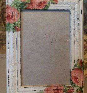 Рамки для фото ручной работы