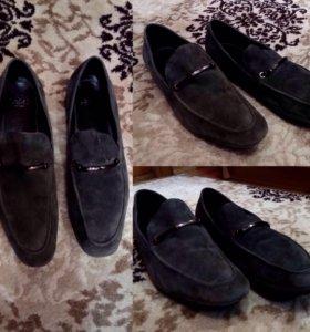 Обувь мужская 43 нат замш