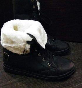 Зимние сапоги ( ботинки) трансформеры