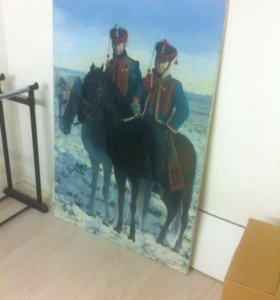 Картина 1500х1000 холст/масло