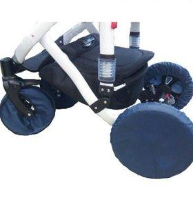 Комплект чехлов для колясок с поворотными колесами