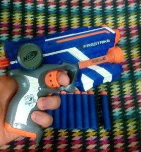 "Пистолет Nerf ""firestrike"" Elite"