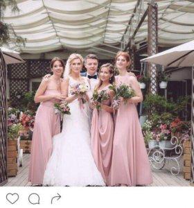 Подружкам невесты платья, наряды