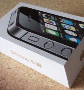 Продаю iPhone 4s на 32 гб черного цвета.