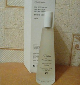 ISSEY MIYAKE L'EAU D'ISSEY POUR FEMME 100 ML ТЕСТЕ