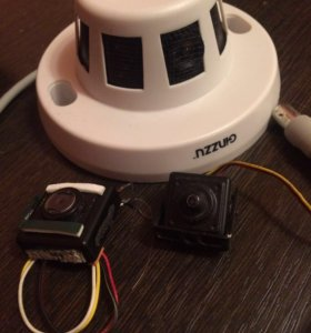 Цветные аналоговые видеокамеры скрытой установки