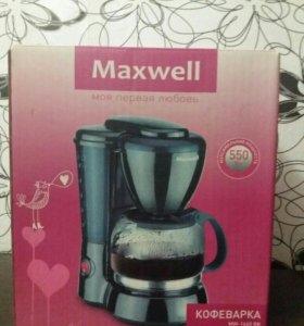 Кофеварка Maxwell MW-1660 BK