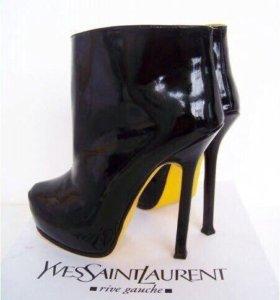 Новые ботинки Ysl