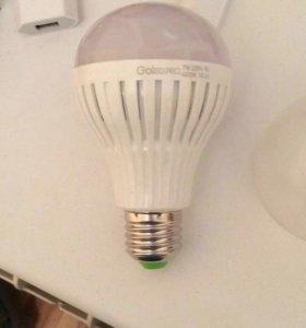 Лампы светодиодные с датчиком света и движения
