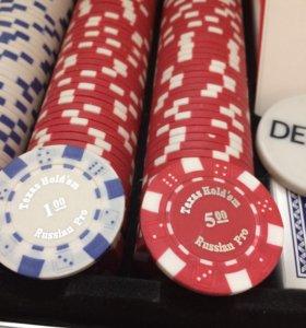 Покер на 300 фишек
