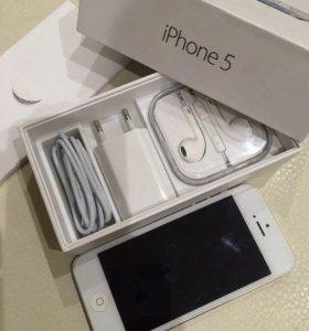 iPhone 5, White, 16GB