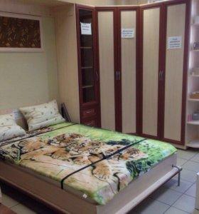 Кровать шкаф подъемная