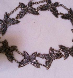 Пояс декоративный-металический