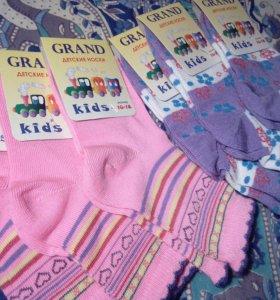 Новые детские носочки и колготки