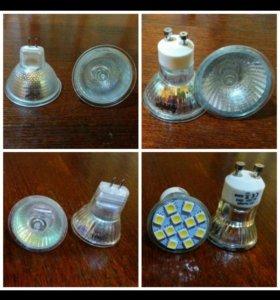 Лампочки и разъем (новые)