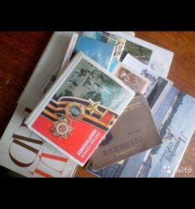 Продам несколько наборов открыток