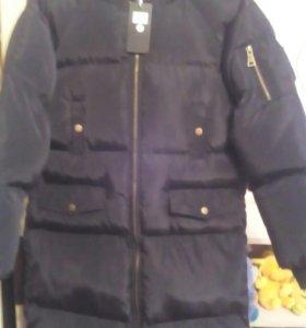 Удлиненная куртка, зимняя новая
