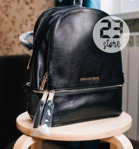 Кожаный рюкзак MK, новый
