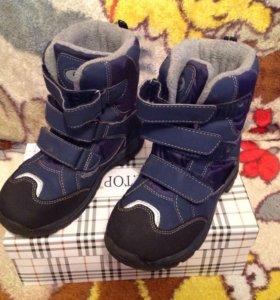 Ботинки детские, зима