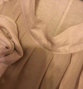 Шелковое платье VISAVIS