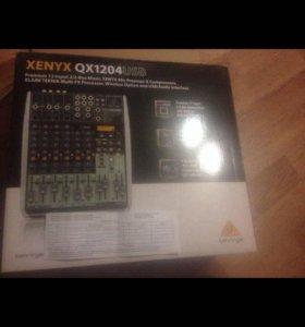 Микшерный пульт Behrinder xenyx qx1204usb