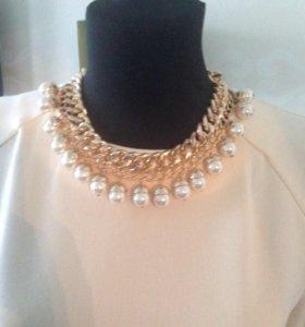 Новое Стильное ожерелье