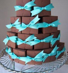 Тортики из бумаги на заказ