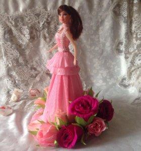 Оригинальный подарок 🎁 Кукла с цветами из конфет