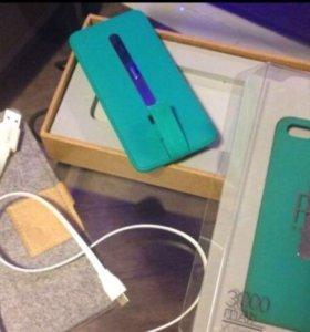 Чехол-аккумулятор Lepow Pie 3000mAh iPhone 5/5S
