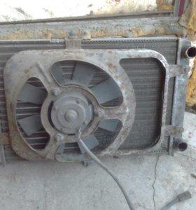Радиатор иж ода 2126