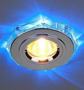 Светильник потолочный с подсветкой